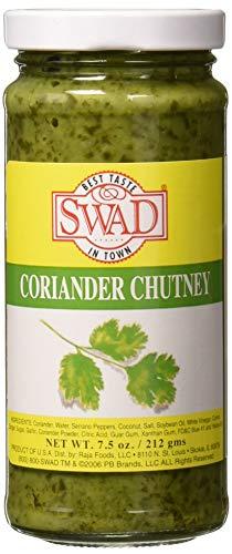 Swad Coriander Chutney Condiment - 8oz