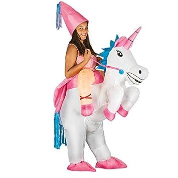 Chaks C4220, Disfraz hinchable de unicornio para adulto ...