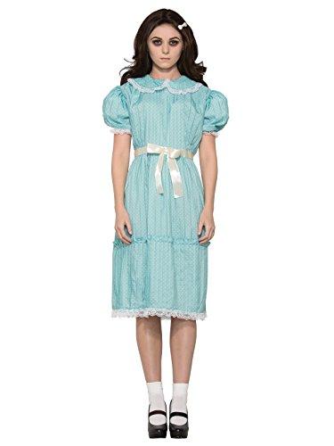 Forum Women's Creepy Sister Costume Dress, Blue,
