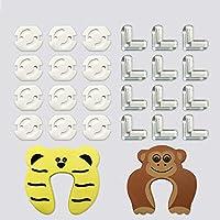 12 Protecciones para Esquinas + 12 Protector Enchufes