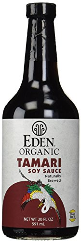 Eden Foods Organic Tamari Soy Sauce -- 20 fl (Eden Organic Soy Sauce)