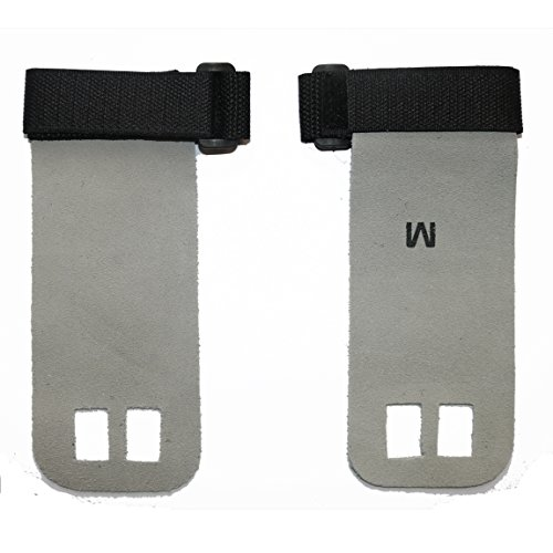Wellsem Leather Hand Grips Palm Protectors for Cross Training WODs