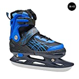 COREYCHEN Ice Skates with Steel Ice Skates Ice Figure Skates Figure Skating Ice Skate Shoes Speed Skating Skates Mans Womes Kids Ice Skates Baud Padded Size Women's and Girls Figure Ice Skates