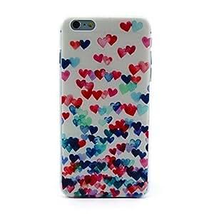 ZMY sinfonía de caso duro del patrón de amor para el iPhone 6 Plus