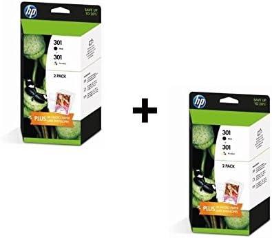 HP 301 Content Value Pack Negro – Color x2: Amazon.es: Electrónica