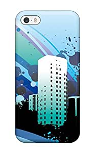 8031835K51329890 Diushoujuan Vector City Wide Back Case/cover For Iphone 5/5s
