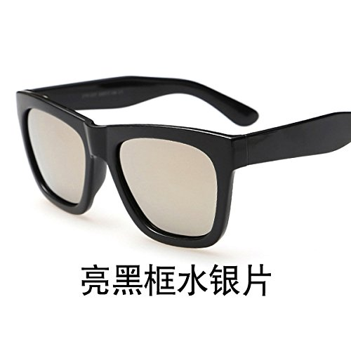 Ultravioleta Regalo Conductor Redondo Para Conducción Espejo San Sol Gafas Gafas Espejo Femenino Rostro Hombres De De Valentín B Negro Para B Silver Sol Polarizado Decoración Día De LLZTYJ PqwZA7nHq