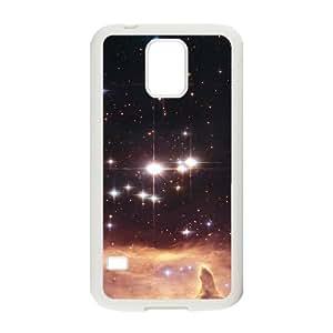 T-TGL(RQ) Samsung Galaxy S5 I9600 DIY Phone Case Stars with Hard Shell Protection