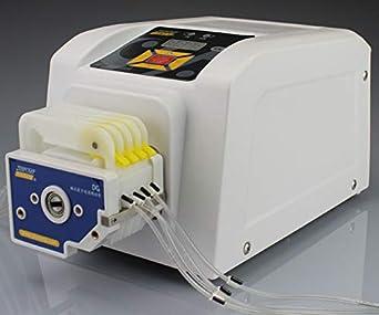 BT-600EA Chemical Dosing Pump Stepper Motor Peristaltic Pump High Flow Laboratory Speed Adjustable 314D