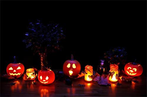 Yeele 5x3ft Pumpkin Lantern Jack-o-Lantern Backdrop Kids Adult