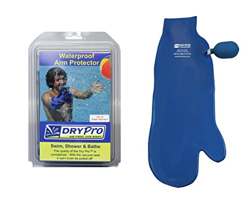 DryPro Waterproof Half Arm Cast Cover, Small