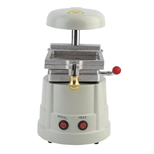 Belovedkai Dental Vacuum Forming Machine Non-Corrosive Former, Dental Equipment, Power Former Heat Molding Tool With Bag Steel Grits by Belovedkai (Image #2)
