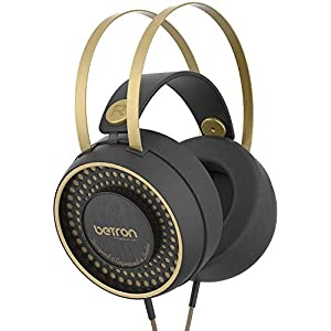 Betron Retro Headphones, Over Ear Headphone, Balanced Bass Driven Sound, Self Adjusting Headband, Soft Ear Pads