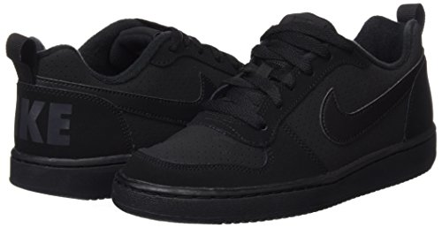 Bambino Nero Borough Low Black black gs Scarpe Da Court Nike Black Basket Cq4p00