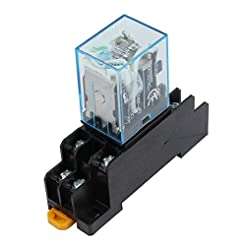 uxcell IEC255 DC 12V Coil 8Pin DPDT Elec...