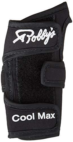 Robby's Coolmax Original Left Wrist Support, Black, Large ()