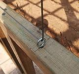 Stainless Steel Screws Eyes Metal Eye Hooks Screw