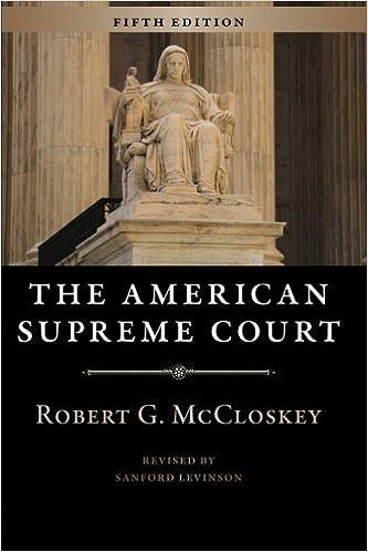 The Supreme Court Before John Marshall - Robert Lowry Clinton