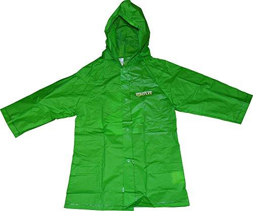 TMNT Ninja Turtles Boy's Raincoat (Large 5-6)