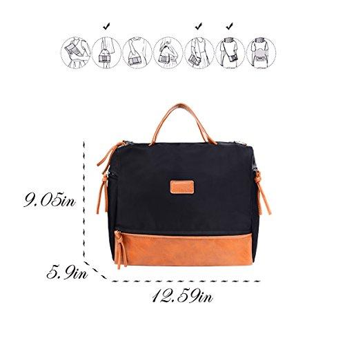 Large Handbag Fashion Shoulder Bag Travel Tote Bag For Women (Brown) by Vintga (Image #2)