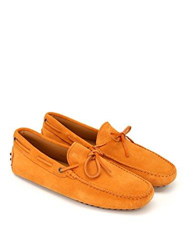 Tod's Naranja XXM0GW05470RE0G820 Mocasín Hombre Gamuza rfr0W4Sgcq