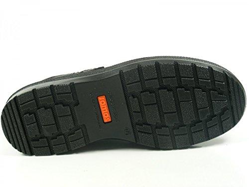 Jomos 459207-37 Contura Schuhe Herren Halbschuhe Slipper, Schuhgröße:47;Farbe:Schwarz