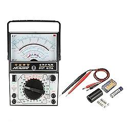 uxcell Analog Multimeter, Tester Meter AC DC Voltmeter Ammeter Ohmmeter Analog Multimeter Voltage Current Resistance Measurement