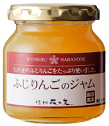 Jam 140g of domestic fruit jam Fuji apples by Flower of the real