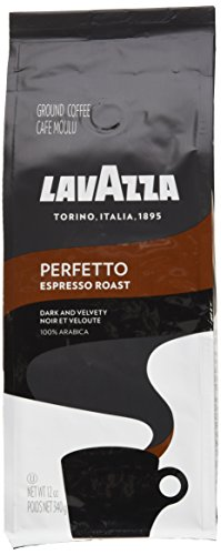 Lavazza Perfetto Ground Coffee Blend, Medium Espresso Roast, 12-Ounce Bags (Pack of (Blend Coffee 12 Oz Drip)