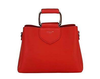 ebf49c8a890 David Jones Women's Women's Carousel Grab Bag One Size Red: Handbags:  Amazon.com