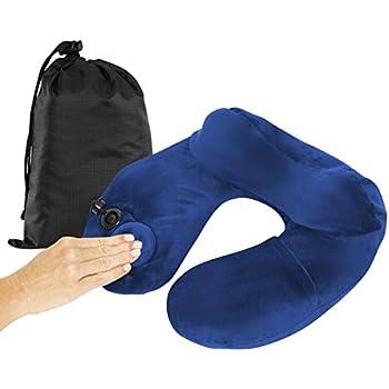 Amazon.com: BestMaxs - Cojín hinchable con funda de almohada ...