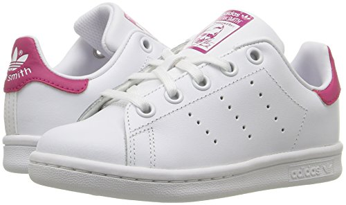 Adidas Little Kids Stan Smith white footwear white bold pink BA8377