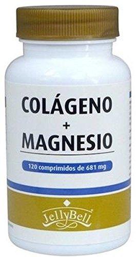 Colágeno Con Magnesio 120 comprimidos de Jellybell: Amazon.es: Salud y cuidado personal