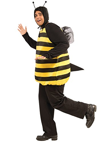 Forum Novelties Women's Plus-Size Bumble Bee Plus Size Costume, Black/Yellow, Plus