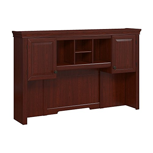 Library Hutch (kathy ireland Office by Bush Business Furniture Bennington Hutch in Harvest Cherry)