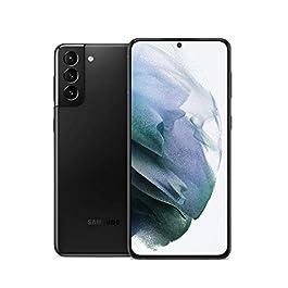 Samsung Galaxy S21+ 5G, US Version, 128GB, Phantom Black – Unlocked (Renewed)