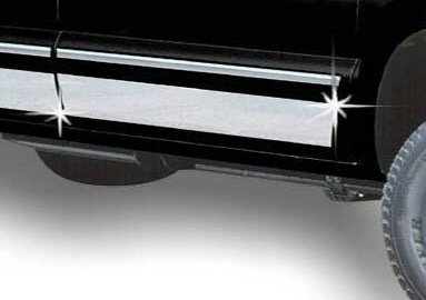 Qmi Rocker Panel (QMI 2-235158 Stainless Steel Mirror Finish 8 7/8 Inch Wide Fits From Bottom Of Door Up Installs With Double Sided Tape)