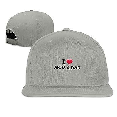 KIOJIANM Love Mom Dad Classic Baseball Capsk Hats