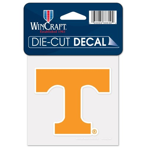 (University Of Tennessee Die Cut Decal 4x4)