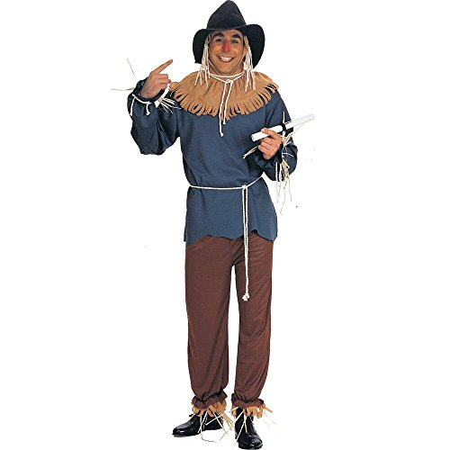 [Warner Bros. Men's The Wizard of Oz Scarecrow Plus Size Costume Plus Size] (Male Scarecrow Costume)