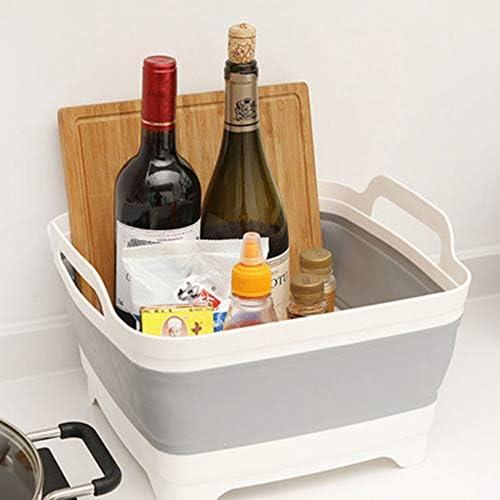 洗い桶 折りたたみ まな板 水切りかご 排水機能付き バケツ 取っ手付き 大容量 多機能 安全無臭 収納便利 キッチン アウトドア 多用途