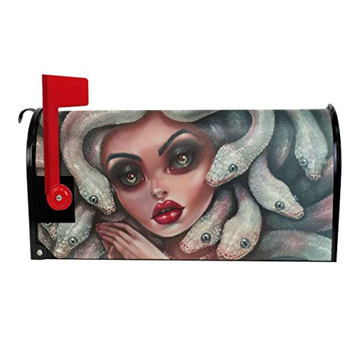 Sexy Medusa Halloween Myth Decoration Mailbox Cover Outdoor Themed Printed Products Cover Magnetic Post Box 21