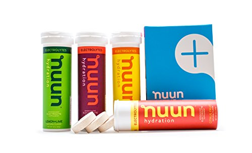 Nuun Hydration: Electrolyte Drink Tablets, Citrus Berry Mix, Box of 4 Tubes