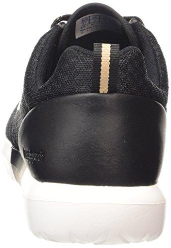 Dynacomf black Gold Mesh Sportif Le W Noir Femme Basses Feminine Baskets rose Coq qHnnavE