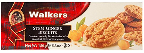 Walkers Stem Ginger Cookies - 5.3 oz