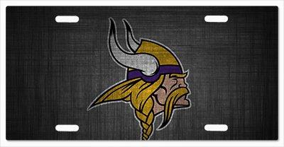 Minnesota Vikings - The Run v09 Vanity License Plate