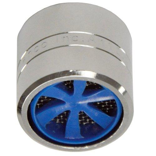Danco 1.5 GPM - Aireador de ahorro de agua con tecnología Microban y Cyclone, 3/4'-27F 1.5 GPM - Hembra - Cromado, 3/4'-27F...
