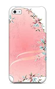 Iphone 5c Case Cover Skin : Premium High Quality Girl With Pink Gown Case by icecream design