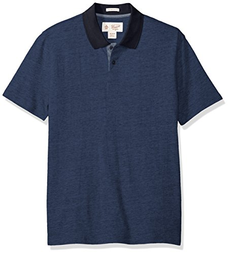 original-penguin-mens-textured-pop-with-contrast-collar-2-button-polo-dark-denim-x-large