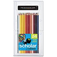 SAN92805 - Prismacolor Scholar Colored Woodcase Pencils